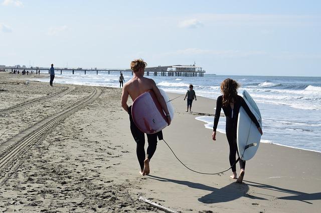 Du surf en couple